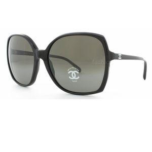 Chanel 5204 Sunglasses with Glitter Lenses